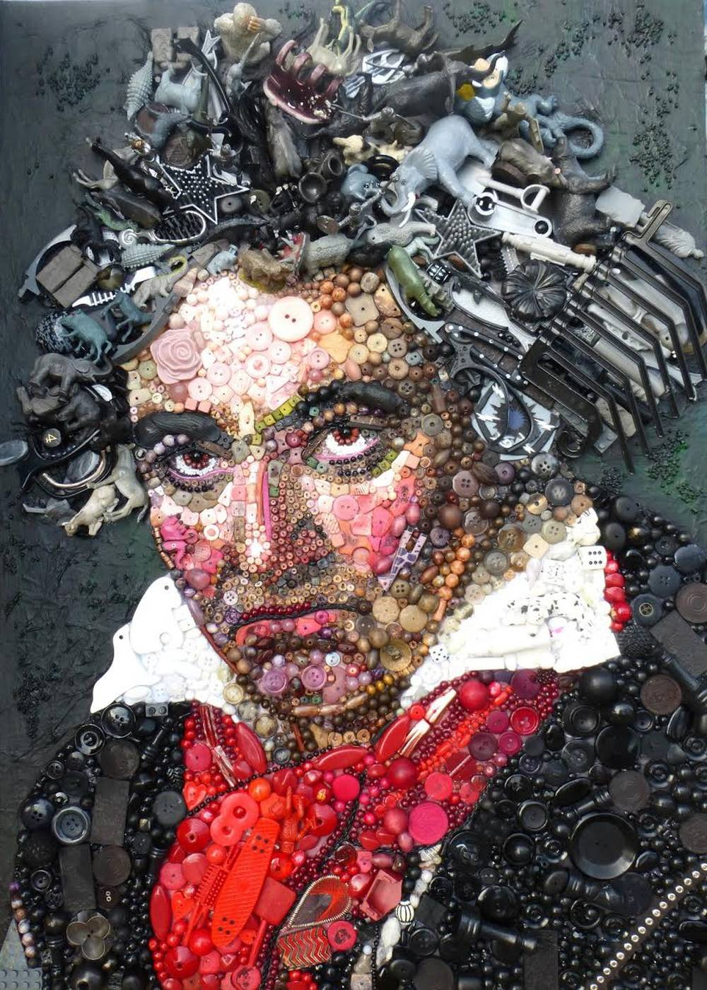 Jane Perkins Art Portrait - Beethoven