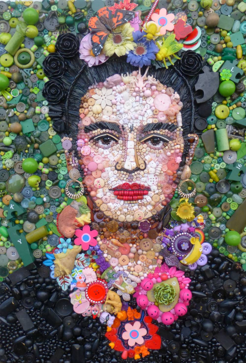 Jane Perkins Art Portrait - Frida Kahlo