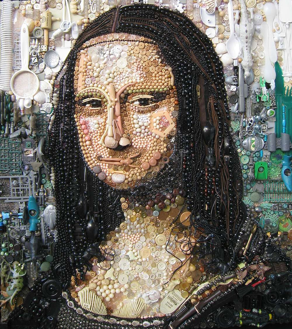 Jane Perkins Art Portrait - Mona Lisa