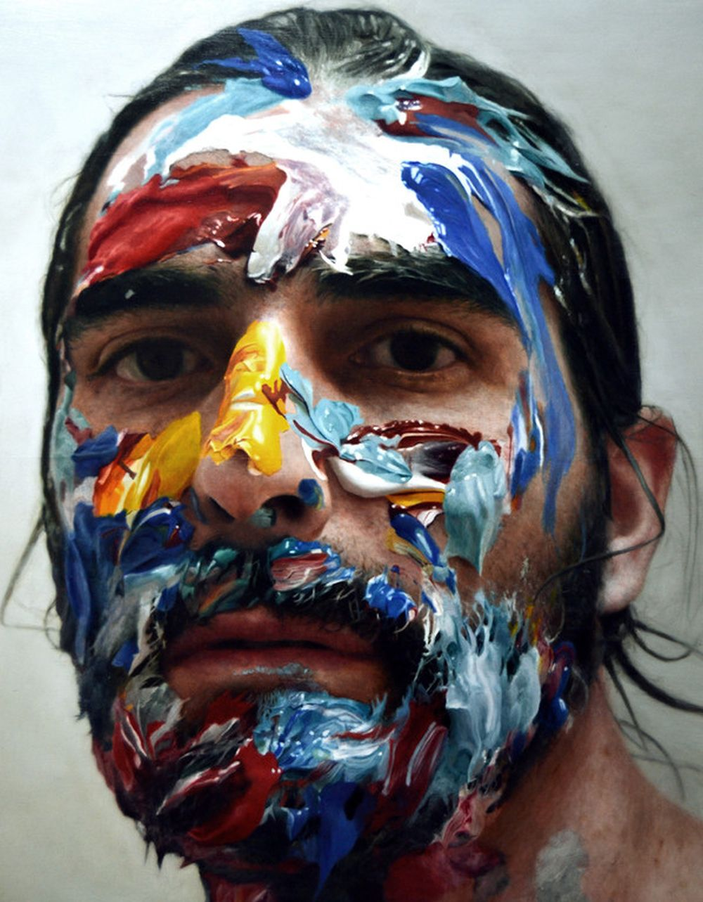 A Unique Series Of Self-Portrait Paintings By Eloy Morales  — Amazingly Rendered In Hyper-realistic Fashion
